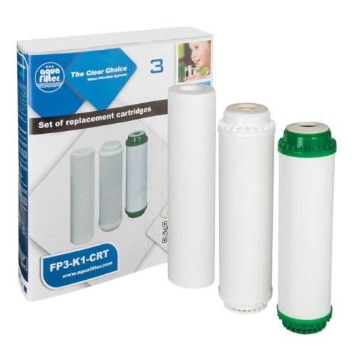 Комплект картриджів до системи Aquafilter FP3-K1 і FP3-HJ-K1