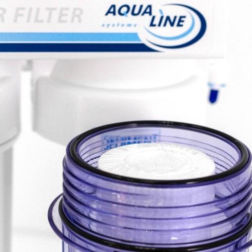 Фильтр обратного осмоса Aqualine RO-7 Antioxidant