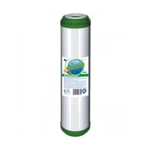 Картридж вугільний з засипанням KDF Aquafilter FCCBKDF