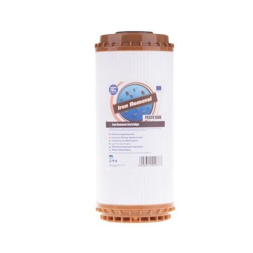 Картридж видаляючий залізо типу Big Blue 10 Aquafilter FCCFE10BB