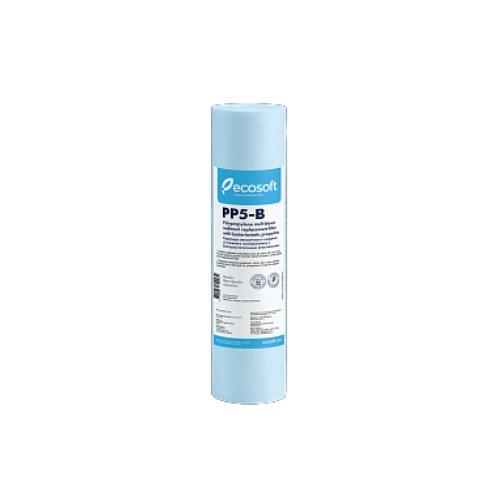 Картридж поліпропіленовий Ecosoft CPV25105BECO з бактеріостатичним ефектом, 5 мкм