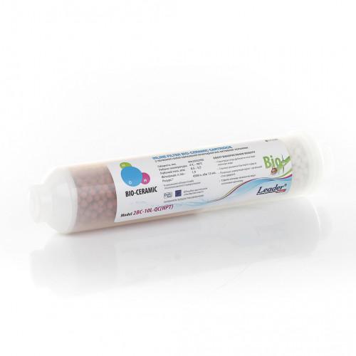 Картридж з червоно-білої природної біо-активної кераміки LEADER BIO-2L