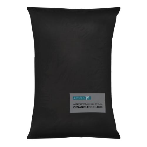 Organic АСОС-L1000, уголь кокосовый отмытый, 25 кг