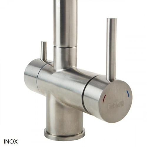 Комбинированный смеситель 3в1 Fabiano FKM 31.7 SS Inox