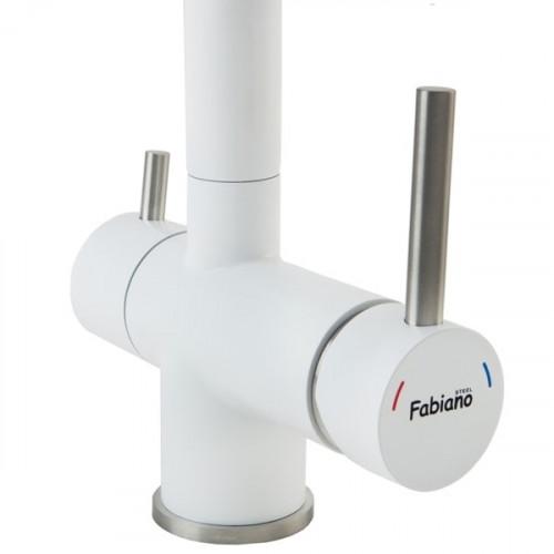 Комбінований змішувач 3в1 Fabiano FKM 31.7 SS Alpine White