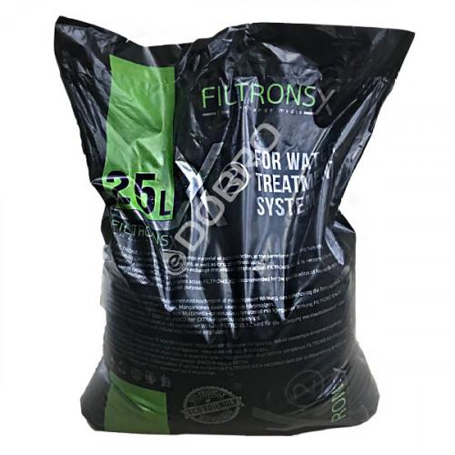 Мультимедійне завантаження Filtrons-X2 для комплексного очищення води, мішок 25 л
