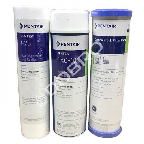 Комплект картриджей Pentek PP-GAC-EPM