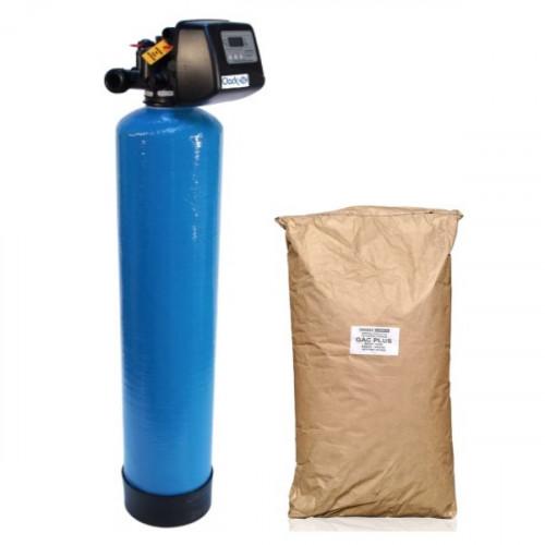 Фильтр угольный от железа, сероводорода, органики GacPlus 1252 Clack TC