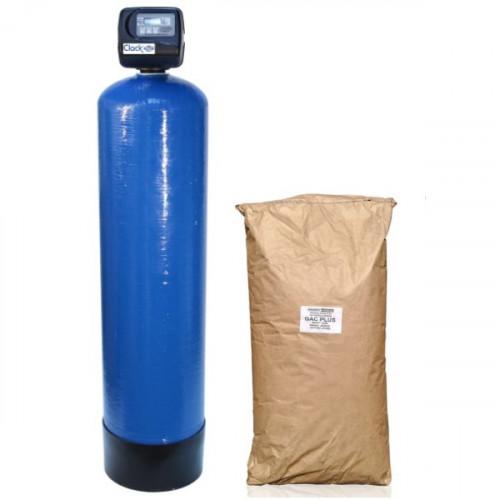 Фильтр угольный от железа, сероводорода, органики GacPlus 1354 Clack TC