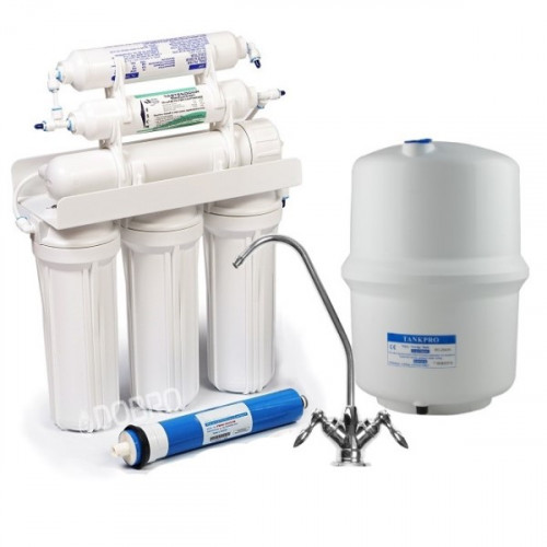 Фильтр обратного осмоса Ecopure RO-6 с минерализатором