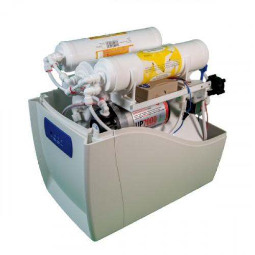 Компактный фильтр обратного осмоса Puricom INFINITY с помпой