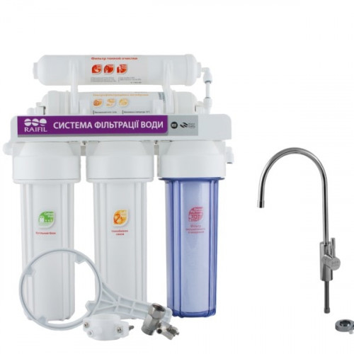 Фильтр проточного типа Raifil NOVO 5 UF SOFT для жесткой воды