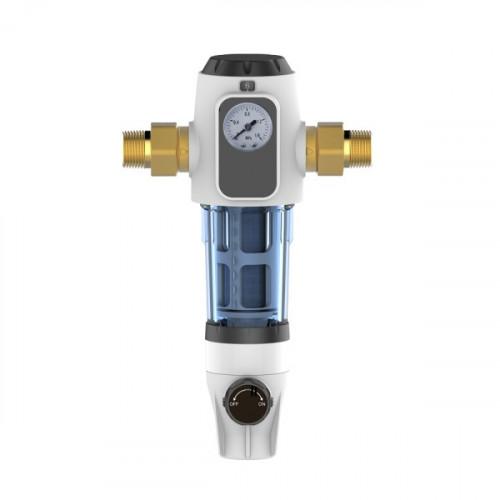 Фильтр механический промывной Canature CPF-3-M с манометром, поворотное крепление 360°