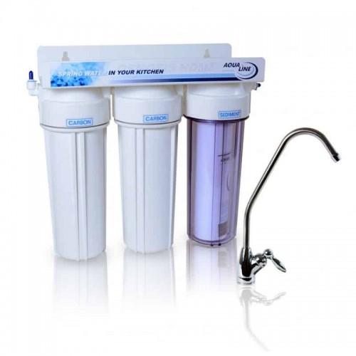Фильтр проточного типа Aqualine MF3 антихлор
