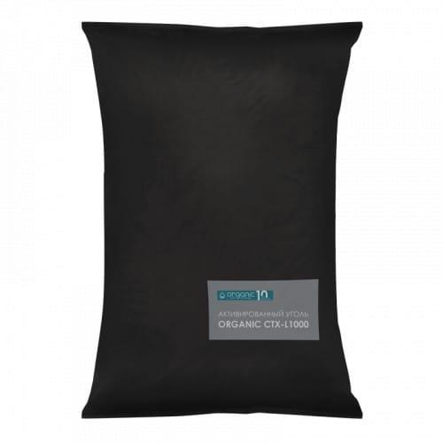 Organic CTX-L1000, уголь для удаления сероводорода и железа, 25 кг