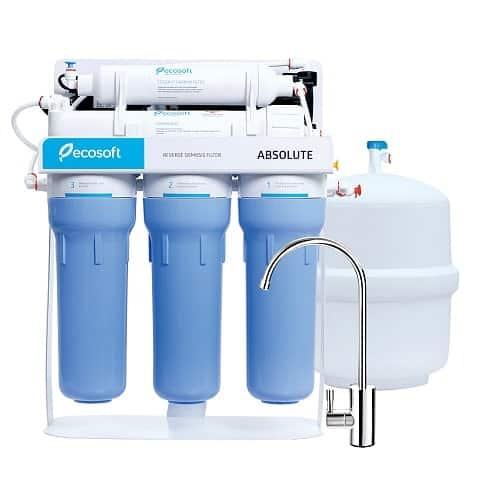 Фильтр обратного осмоса Ecosoft Absolute 5-50P с насосом (MO550PSECO)