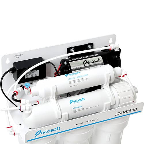 Фільтр зворотного осмосу Ecosoft Standard 5-50P з насосом (MO550PECOSTD)