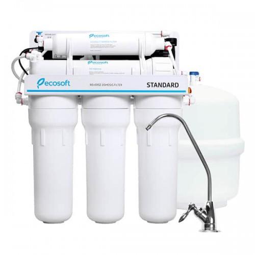Фильтр обратного осмоса Ecosoft Standard 5-50P с насосом (MO550PECOSTD)