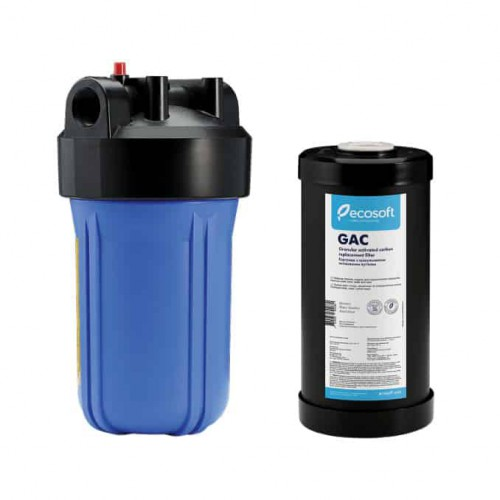 Фильтр Ecosoft типа Big Blue 10 с угольным GAC картриджем в комплекте