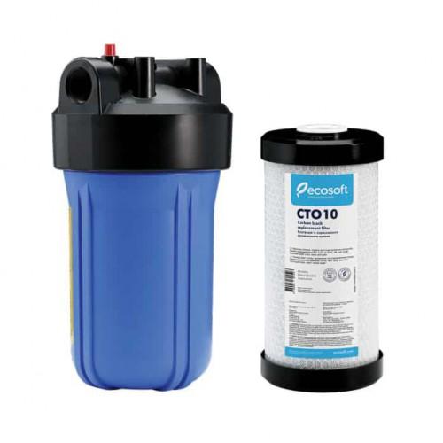 Фильтр Ecosoft типа Big Blue 10 с угольным CTO 10 картриджем в комплекте