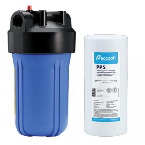 Фильтр Ecosoft типа Big Blue 10 с механическим картриджем в комплекте