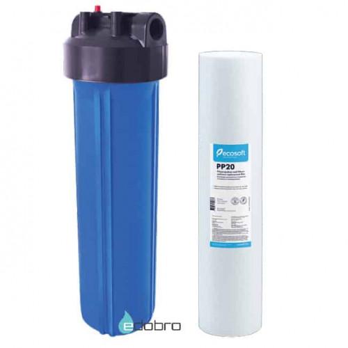 Фильтр Ecosoft типа Big Blue 20 с механическим картриджем в комплекте