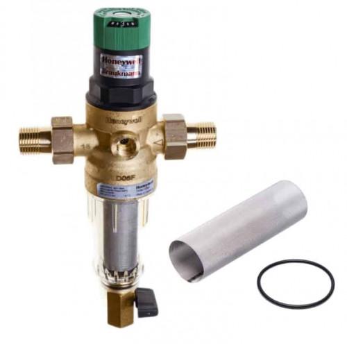 Механический фильтр для холодной воды  HoneyWell FK06-1/2AA с редуктором