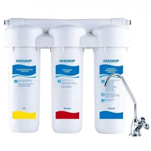 Фильтр проточного типа Аквафор Трио Норма для жесткой воды