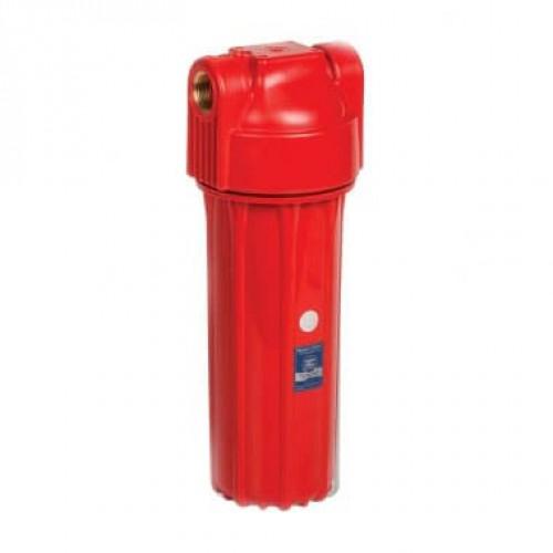 Красный корпус фильтра для горячей воды 1