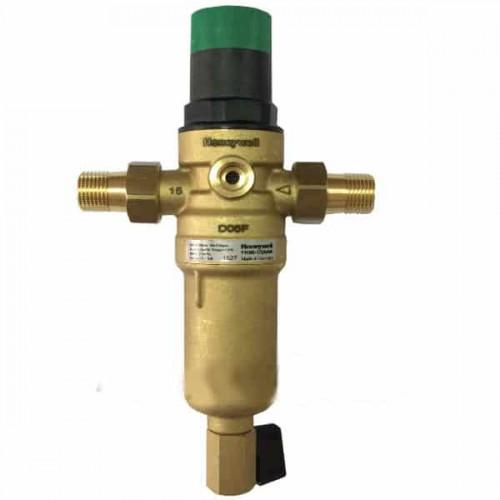 Механический фильтр для горячей воды  HoneyWell FK06-3/4AAM с редуктором
