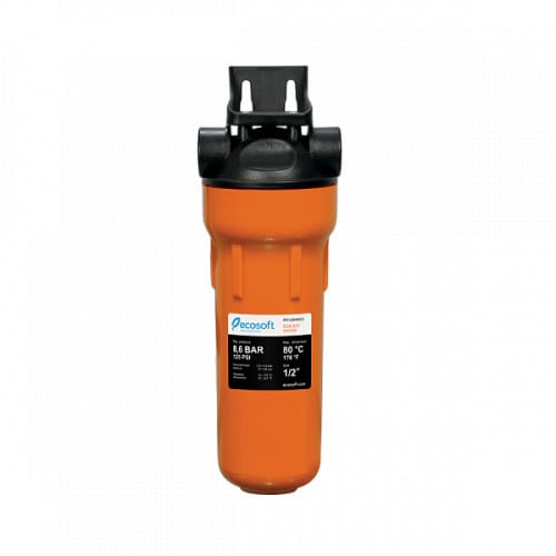 Магистральный фильтр механической очистки для горячей воды Ecosoft 1/2