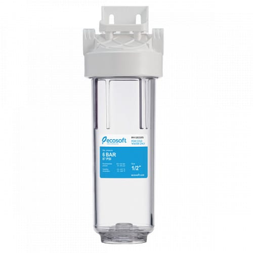 Магистральный фильтр  для холодной воды Ecosoft 1/2 без картриджа и коробки FPV12ECOST
