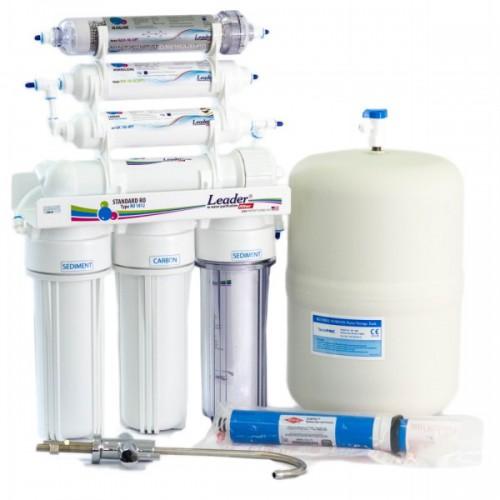 Фильтр обратного осмоса Leader Standart RO-7 HD-20 Antioxidant
