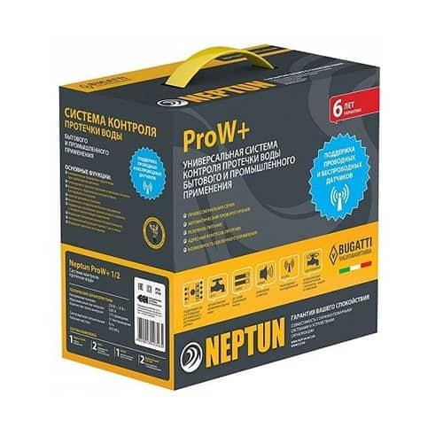 Беспроводная система защиты от потопа Neptun Bugatti ProW+ 1/2