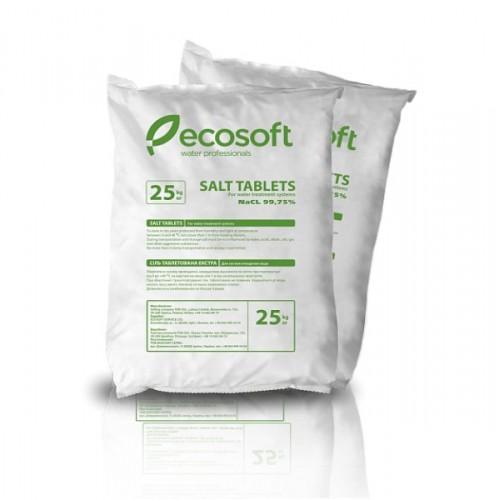 Таблетированная соль ECOSIL 25 кг (Украина)