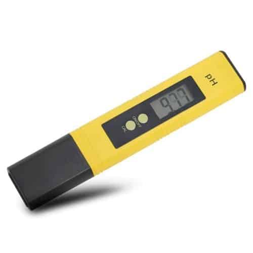 Карманный PH метр желтый