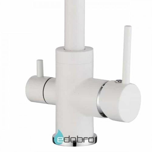 Трёхпозиционный кран-смеситель AquaSanita Sabiaduo 2963-710 Белый (Alba)