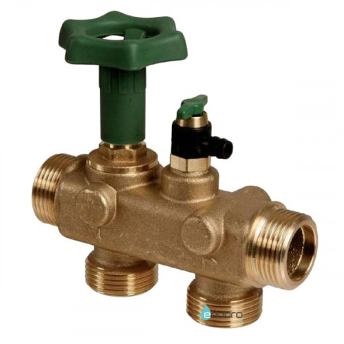 BWT Multiblock inline 3в1: кран, байпас и клапан для отбора воды