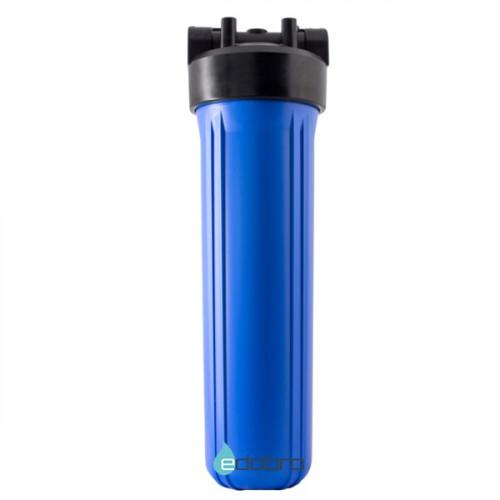 Синий корпус типа Big Blue 20-OR2 для холодной воды в комплекте с креплением, шурупами и ключем