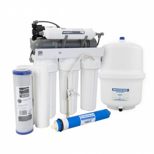 Фильтр обратного осмоса Platinum Wasser ULTRA 5B с насосом