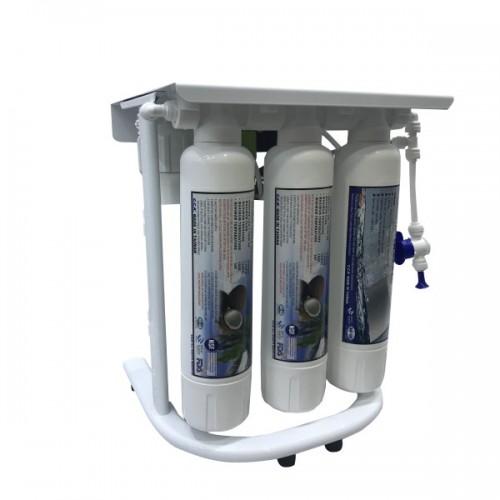 Фильтр обратного осмоса на 7 этапов очистки C.C.K. ROE3-750-BP-EZ-S с насосом