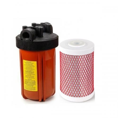 Фильтр комплексной очистки для горячей воды, типа Big Blue 10