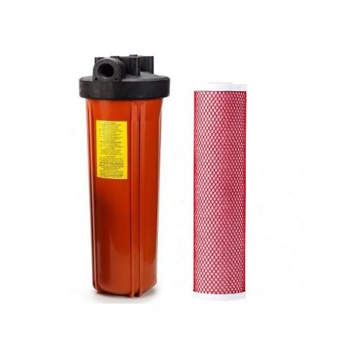 Фильтр комплексной очистки для горячей воды, типа Big Blue 20