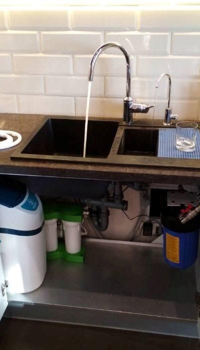 Умягчитель на всю квартиру и отдельно питьевой фильтр