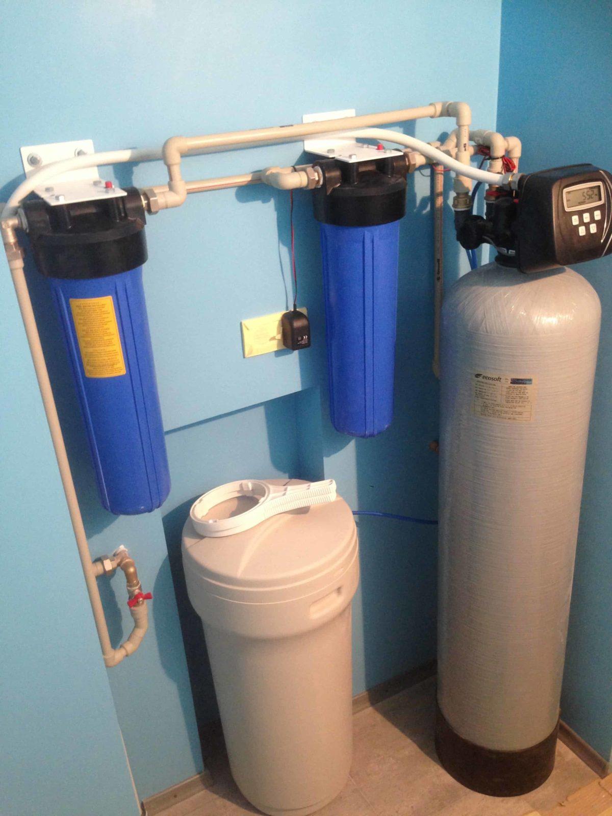 Фильтр комплексной очистки колонного типа